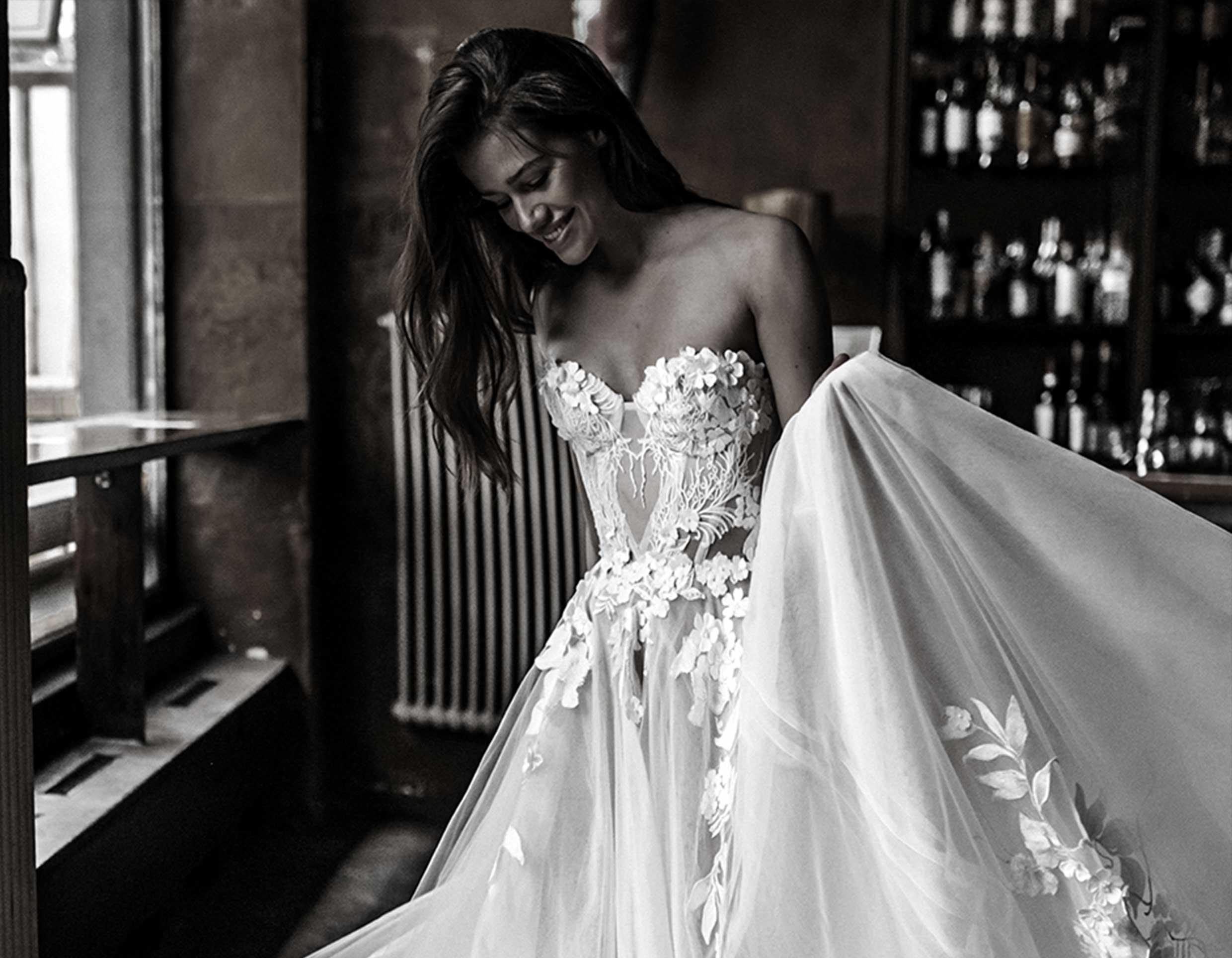LET US BE THE PART OF YOUR BRIDAL JOURNEY